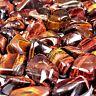 750 g Tigerauge rot XXL Trommelsteine Ø 30 - 50 mm  AA - Qualität aus Südafrika