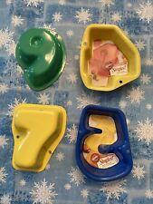 Wilton Set Of 4 Singles Number Cake Pan Mold Four Five Six Seven Nine 4 5 6 7 9
