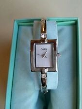 Aluminium Strap Quartz (Battery) Analog Square Wristwatches