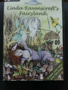 Linda Ravenscroft's Fairyland CD-ROM Paper Craft Card Making Disc used