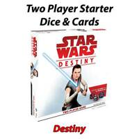 Star Wars Destiny - Two Player Set - Individual Cards & Dice - Free Postage