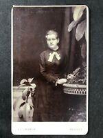 Victorian Carte De Visite CDV: Young Lady: Church: Belfast