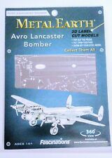 Metal Earth 3D Laser Cut Steel Model Kit Avro Lancaster Bomber Brand New