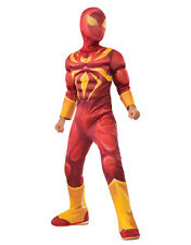 """Iron Spider Deluxe Costume, Large, Age 8 - 10, HEIGHT 4' 8"""" - 5'"""
