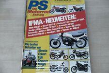 1) PS Sport Motorrad 1982/10 - Honda CBX 550 F2 mit 60 - Wirklich gut? Kawasaki