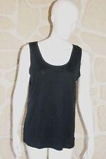 Débardeur noir neuf taille XXL marque Pure Cotton étiqueté à 16,50€ (ng)