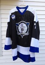 ROLLING THUNDER Size XXL Team HOCKEY JERSEY Goalie MOTORCYCLE Skeleton SHIRT