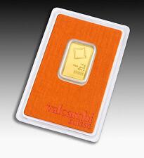 Goldbarren 10g 10 Gramm Valcambi Suisse Blister Gold 99,99 gold bar