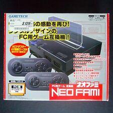 Gametech Neo Fami AV famiclone Console ・ ❀ ・ NEW Nintendo Famicom clone nes complet