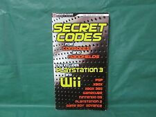 Secret Codes for Consoles and Handhelds for PS3, Wii, PSP, Xbox, PS2, DS, 360