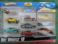 Hot Wheels 10 Car Ex. Multi - Pak 2008 Hotwheels Decoration – NIB (INVRMGDAL12)