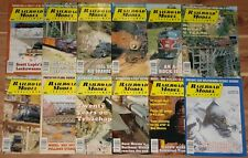 2001 Railroad Model Craftsman Magazine Set Of 12