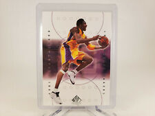 2000-01 Upper Deck SP Authentic #39 Kobe Bryant Los Angeles Lakers