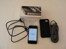 Apple iPhone 4s - 8GB - Black (Unlocked) A1387 (CDMA + GSM) w/ Box & Accessories