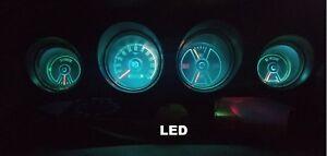 1969-1970 Ford Mustang Gauge Instrument Cluster - LED bulb upgrade! 69-70