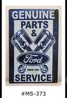 Mexican Genuine Parts Made Metal Sign Man Cave Garage Shop Club Wall Decor IC010