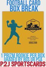 New listing Hit Parade 2020 ROOKIE PRIZM FOOTBALL CARD Box BREAK 1 RANDOM TEAM Break 3039