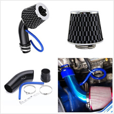 "Black 3"" Car Cold Air Intake Induction Pipe Kit Filter Tube System Universal 76m"