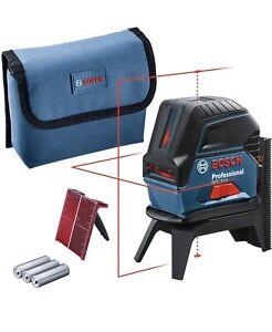Bosch Professional Kreuzlinienlaser GCL 2-15 (roter Laser, Innenbereich)
