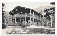 Real Photo Postcard The Chalet at Emerald Lake, Yoho National Park Canada~104699
