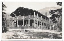 Real Photo Postcard The Chalet at Emerald Lake, Yoho National Park Canada~104699