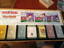 Garfield Monopoly Board Game Collectors Edition Complete 2003