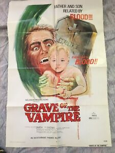 Grave of the Vampire, movie poster from the early '70s
