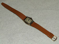 Vintage Working 1930's WESTFIELD Gold Art Deco Men's Wrist Watch 10ZC 7J, CLEAN!