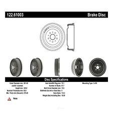 Brake Drum  Centric Parts  122.61003
