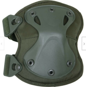 Russian Army Tactical Military Knee Pads X-FORM Fishing Olive Black