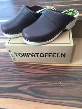 38 Or Size 7.5 Cape Clogs Wine burgundy Cordovan new In Box Women's torpatoffeln