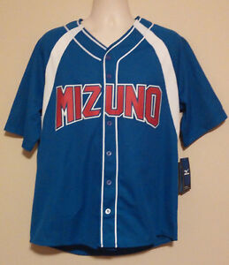 Mizuno Baseball Jersey Medium Embroidered Dry Lite Jersey