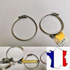 2x Colliers de serrage durite/tubes  75-100mm.
