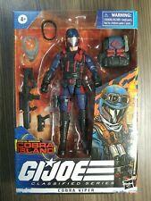 "Hasbro G.I. Joe Classified Series Cobra Viper Target Exclusive 6"" Action Figure"