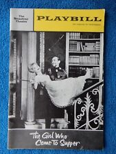 The Girl Who Came To Supper - Broadway Theatre Playbill -  January 1964 - Ferrer