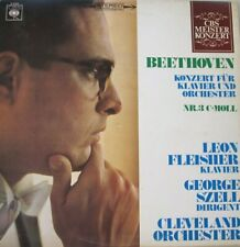 LEON FLEISHER - CLEVELAND ORCHESTER - GEORGE SZELL - BEETHOVEN  - LP