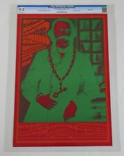 Neon Rose Poster NR-4-RP-2 : CGC Grade 9.8 Signed by Victor Moscoso