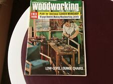 Practical Woodworking April 1966-COMPLETE WITH PLAN TO BUILD A GARDEN WORKSHOP
