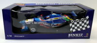 Minichamps 1/18 Scale Diecast - 7711147841 Benetton Renault 1997 Alesi #7