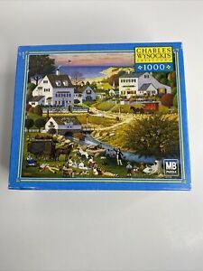 Buffalo - Charles Wysocki 1000 Piece Puzzle - Hound of the Baskervilles