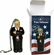 Dunk A Trump Tea Infuser Funny Donald Trump Gag Gifts and Stocking Stuffers.