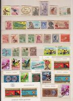 Papua New Guinea Stamp lot inc old ones as well  K-331