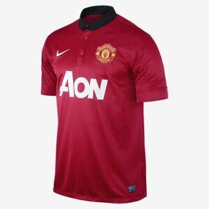 Nike Manchester United Men's Home Stadium Jersey 2013/14