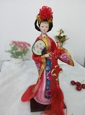 """Ancient Chinese Queen Tang Dynasty Four Beauties """"YangGuiFei"""" Doll Statue"""