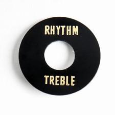 Black Rhythm/Treble Switch Ring for Gibson® Les Paul SG ES-335 AP-0663-023