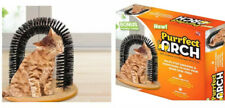 New listing Purrfect Arch With Catnip Self Groomer and Massager Arch for cats As Seen On Tv