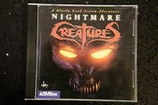 Activision Nightmare Creatures PC CD-rom (REF BOX C44)