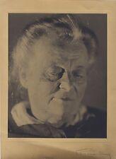 Grand portrait signé Franc Lamy Paris à découvrir Vintage argentique ca 1930