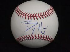 Billy Hamilton Cincinnati Reds Signed OMLB Baseball LOM COA (BSB162)