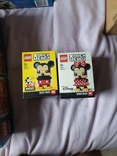 LEGO Brickheadz Mickey & Minnie Mouse BNIB mint condition Rare